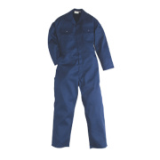 Work Safe Traditional Polycotton Boiler Suit Navy Large 44