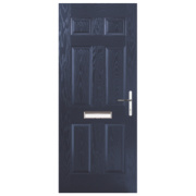 Birkdale Composite Front Door Blue GRP 880 x 2055mm