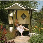 Rowlinson Garden Products Haven Arbour 1.73 x 1.73 x 2.5m
