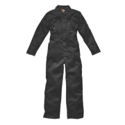 Dickies Zip Front Coverall Black 48