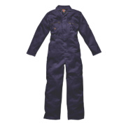 Dickies Zip Front Coverall Navy 42