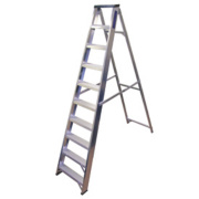 Lyte BSBB10 Swingback Builders Step Ladder Aluminium 10-Tread 2.17m