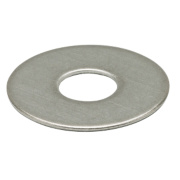 Large Flat Washers BZP M6 10Pcs