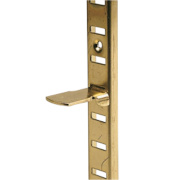 Bookcase Supports Electro Brass x x mm Pack of 10