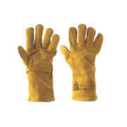 Keepsafe Professional Welders Gauntlets Yellow Large