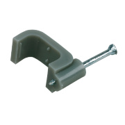 Tower Cable Clip Grey 2.5mm Pack of 100