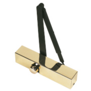 Eclipse 28932/28905 Overhead Door Closer Polished Brass