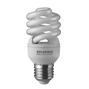 Sylvania Spiral Compact Fluorescent Lamp ES 900Lm 15W