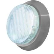 Sylvania Circular Downlight Cabinet Lights Silver Pack of 3