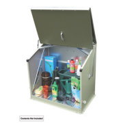 Trimetals Sentinel Single-Door Pent Store 1 x 0.6 x 1m
