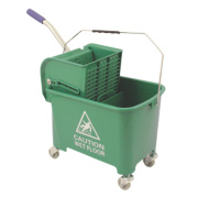 Mobile Mop Bucket Green 20Ltr
