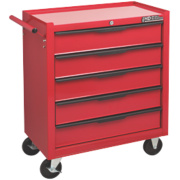 Hilka Pro-Craft 5 Drawer Heavy Duty Tool Trolley