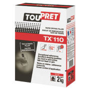 Toupret TX110 Expert Rapid Drying Interior Filler Brilliant White 2kg