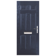 Birkdale Composite Front Door Blue GRP 920 x 2055mm