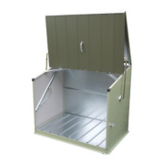 Trimetals Stowaway Single-Door Pent Store 1.3m x 0.8m x 1.1m