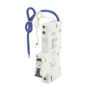 Wylex 10A 30mA Single Pole Type B Curve RCBO
