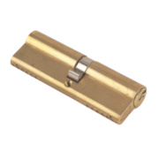 Yale 6-Pin Euro Cylinder Lock BS 45-50 (95mm) Polished Brass