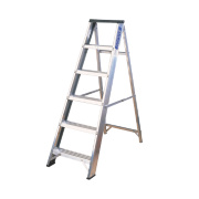 Lyte BSBB7 Swingback Ladder Aluminium 7-Tread 1.48m