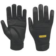 Stanley Vibration Absorbing Performance Gloves Black Large