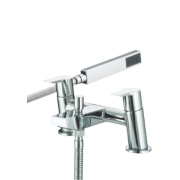 Bristan Pisa Dual Lever Bath/Shower Mixer Tap