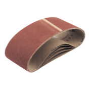 100 x 610mm 120Grit Cloth Sanding Belt Pack of 5