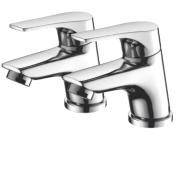 Bristan Easyfit Vantage Basin Taps Pair