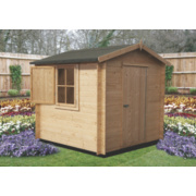 Camelot 2 Log Cabin 2.3 x 2.3 x 2.2m