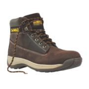 DeWalt Apprentice Safety Boots Brown Size 12