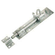 Heavy Brenton Lockable Pad Bolt Galvanised 270mm