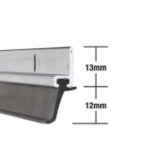 Stormguard Heavy Duty Around Door Strips Aluminium 1025mm Pack of 5