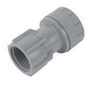 PolyPlumb Tap Connector 15mm x ½