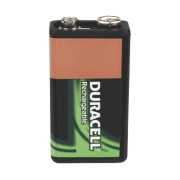 Duracell 81418226 9V Rechargeable Battery