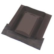 Glidevale Versa-Tile Vent Brown 110mm