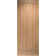 Jeld-Wen Cottage Solid Cottage Interior Panelled Door Oak Veneer 1981 x 762mm
