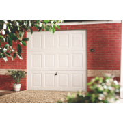 Georgian 8' x 7' Frameless Steel Garage Door White