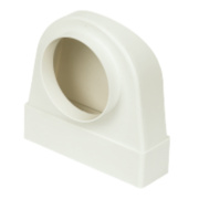 Manrose Round Appliance Connector White 120mm