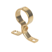 Talon Pipe Bracket Brass 22mm Pack of 5