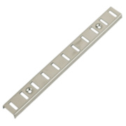 Bookcase Strips Nickel Plated 16 x x mm Pack of 10