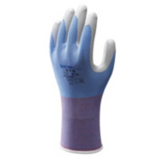 Showa Best 370 Floreo Nitrile Gloves Blue Medium