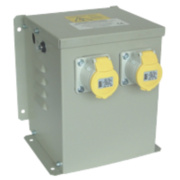 Wall Mounted Transformer with 2 Output Sockets 3300VA