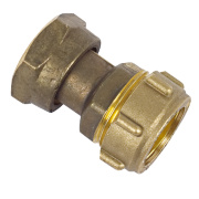 Conex Straight Tap Connector 303 22mm x ¾