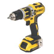DeWalt DCD737D2-GB 14.4V XR 2.0Ah Li-Ion Cordless Combi Drill Brushless