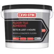 Evo-Stik Fast Set Floor Tile Adhesive Off-White 5Ltr