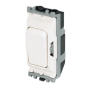 MK 1-Way 20A SP Grid Switch White