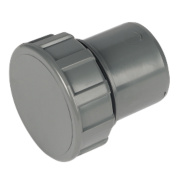 FloPlast ABS Access Plug Grey 32mm Pack of 5
