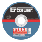 Erbauer Stone Cutting Discs 115 x 2.5 x 22.23mm Pack of 5