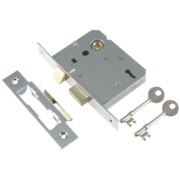 Century 3-Lever Mortice Sashlock Chrome Plated