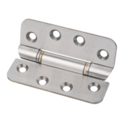 Eclipse Anti-Ligature Hinge Grade 13 Satin Stainless Steel 76 x 102mm Pk2