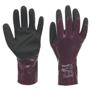 ATG MaxiDry Gloves Purple Large