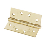 Eclipse Washered Fire Hinge Electro Brass 102 x 76mm Pk2